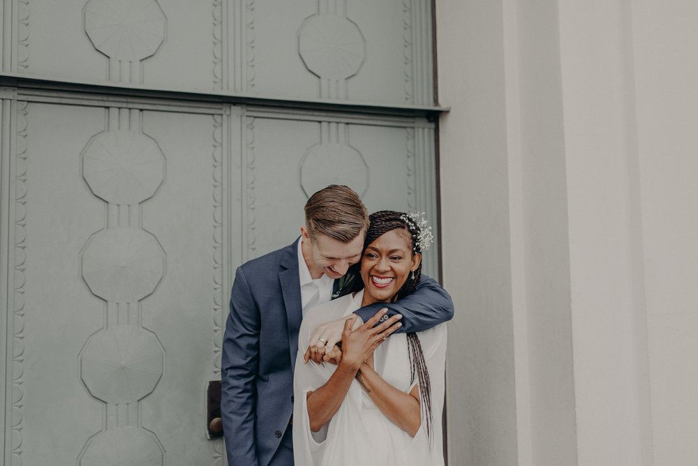 Los Angeles Wedding Photographer - Griffith Observatory Elopement - Long Beach wedding photo - IsaiahAndTaylor.com-057.jpg