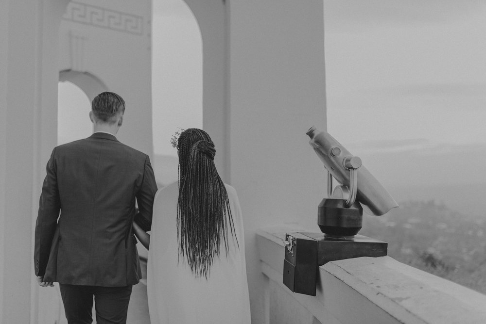 Los Angeles Wedding Photographer - Griffith Observatory Elopement - Long Beach wedding photo - IsaiahAndTaylor.com-058.jpg