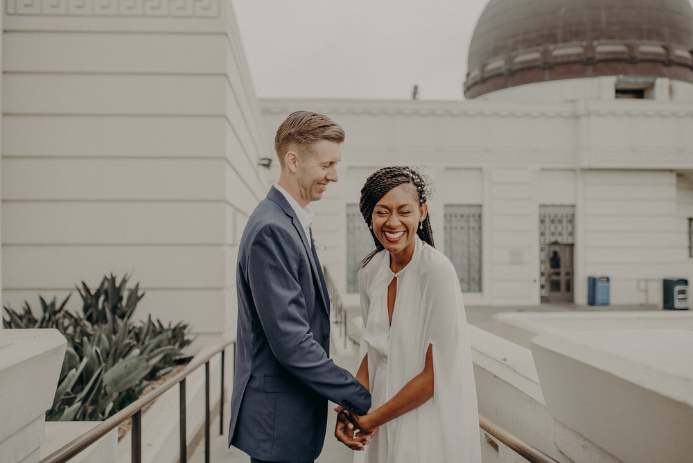 Los Angeles Wedding Photographer - Griffith Observatory Elopement - Long Beach wedding photo - IsaiahAndTaylor.com-059.jpg