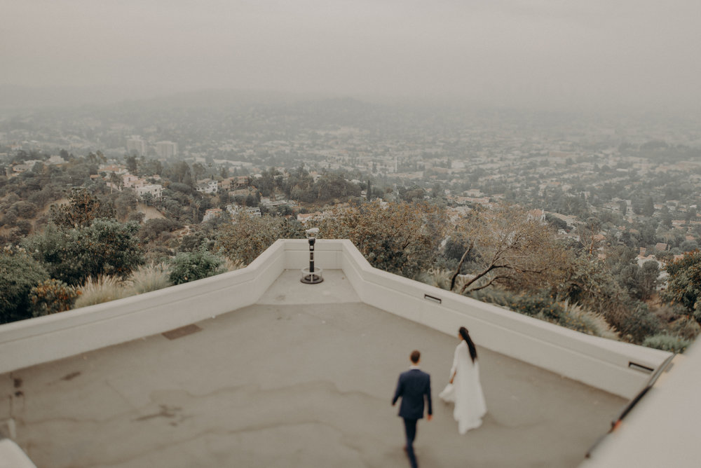 Los Angeles Wedding Photographer - Griffith Observatory Elopement - Long Beach wedding photo - IsaiahAndTaylor.com-062.jpg