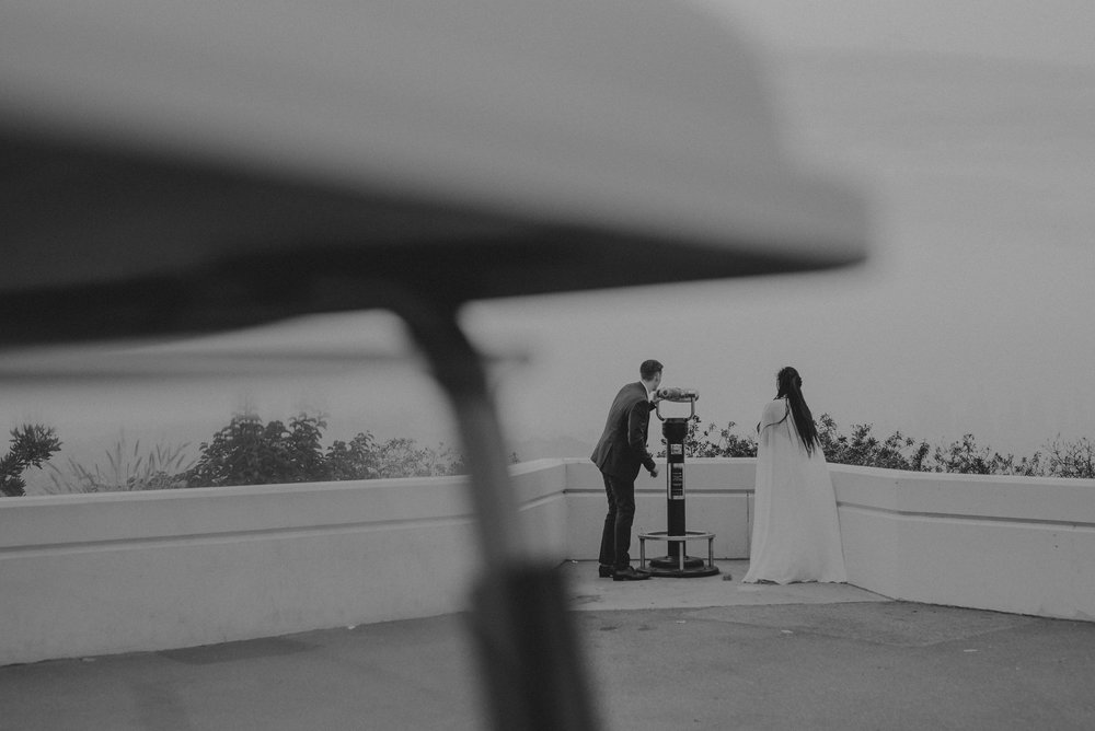 Los Angeles Wedding Photographer - Griffith Observatory Elopement - Long Beach wedding photo - IsaiahAndTaylor.com-064.jpg