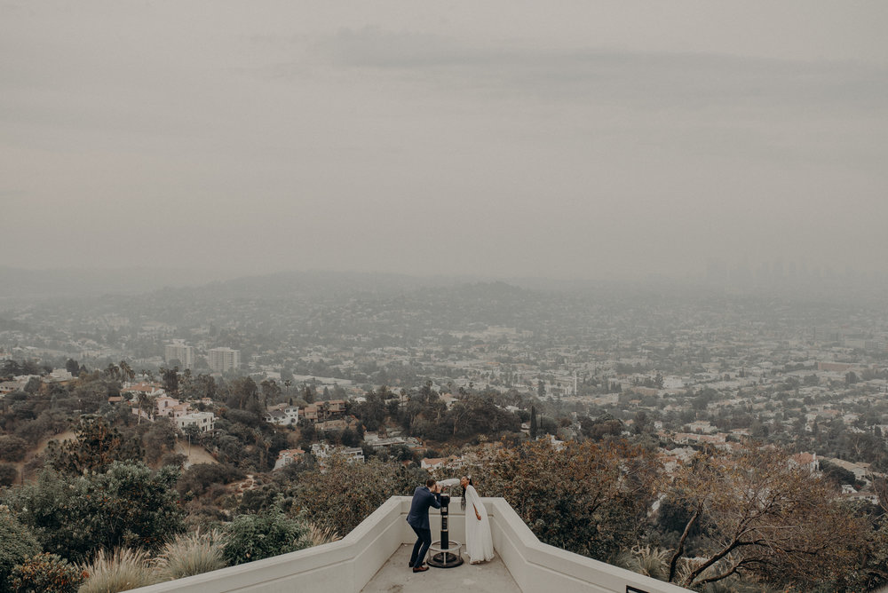 Los Angeles Wedding Photographer - Griffith Observatory Elopement - Long Beach wedding photo - IsaiahAndTaylor.com-063.jpg