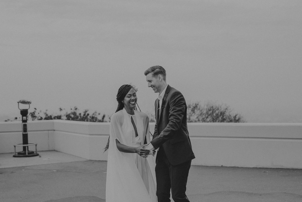Los Angeles Wedding Photographer - Griffith Observatory Elopement - Long Beach wedding photo - IsaiahAndTaylor.com-065.jpg
