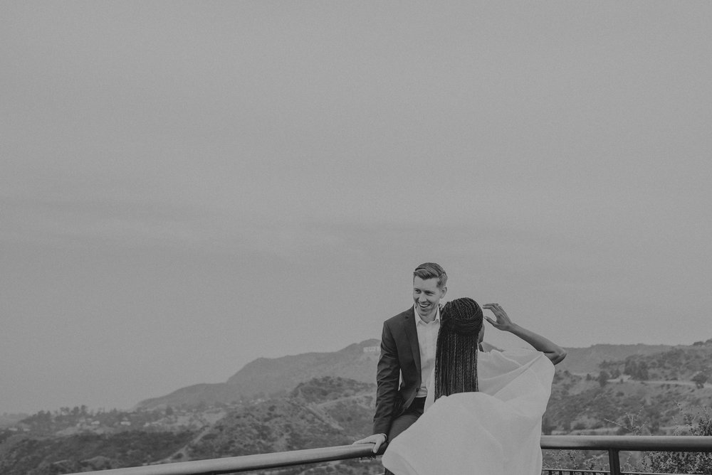 Los Angeles Wedding Photographer - Griffith Observatory Elopement - Long Beach wedding photo - IsaiahAndTaylor.com-075.jpg