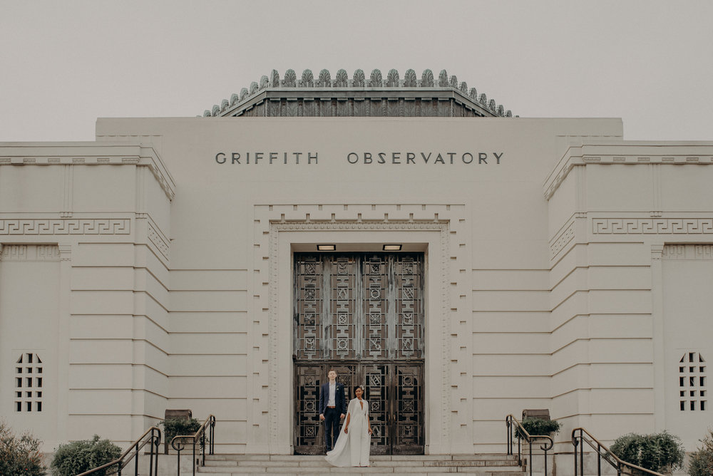 Los Angeles Wedding Photographer - Long Beach Wedding Photography - Griffith Observatory Elopement