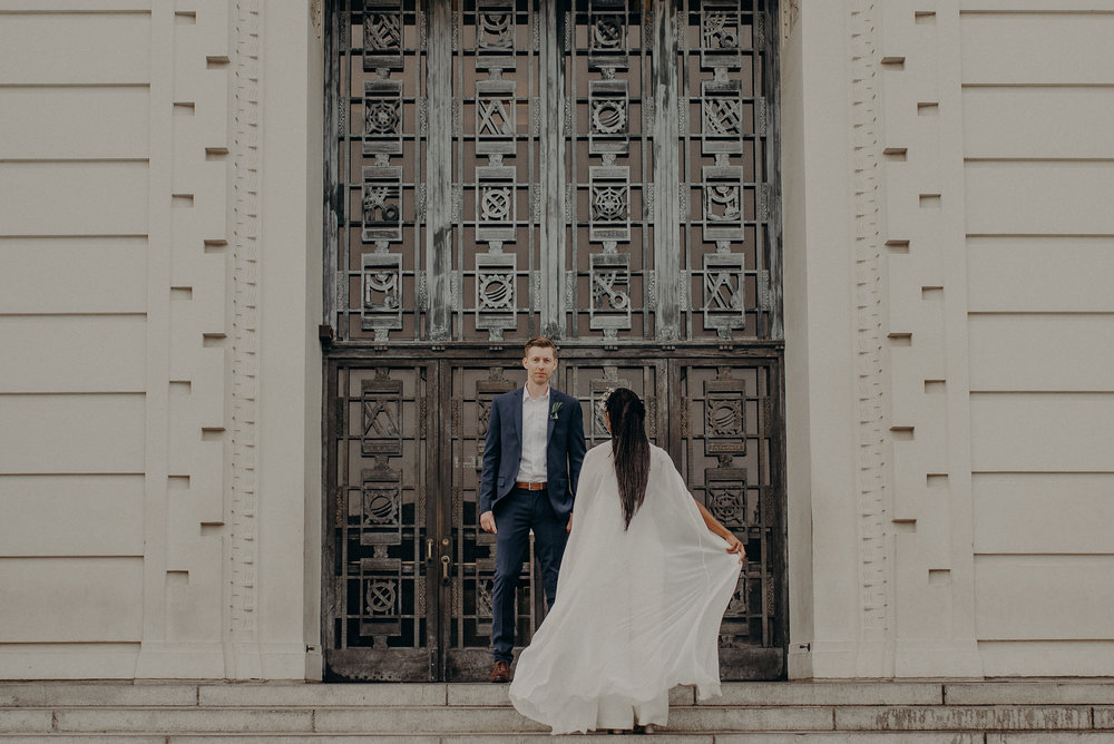 Los Angeles Wedding Photographer - Griffith Observatory Elopement - Long Beach wedding photo - IsaiahAndTaylor.com-080.jpg