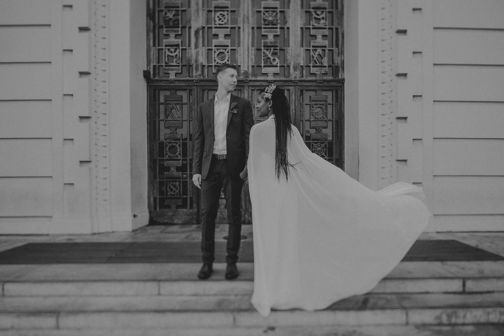 Los Angeles Wedding Photographer - Griffith Observatory Elopement - Long Beach wedding photo - IsaiahAndTaylor.com-081.jpg