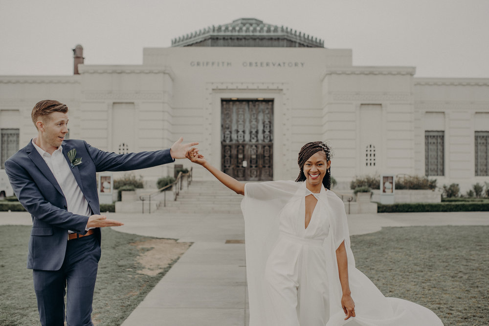 Los Angeles Wedding Photographer - Griffith Observatory Elopement - Long Beach wedding photo - IsaiahAndTaylor.com-088.jpg