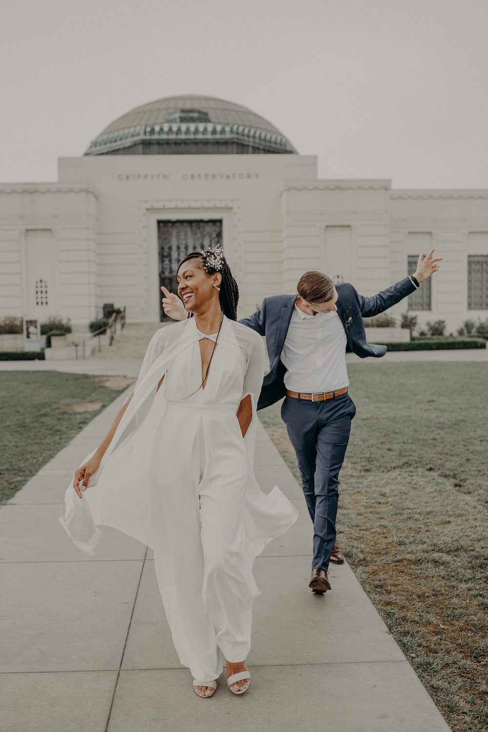 Griffith observatory elopement - la wedding photographer