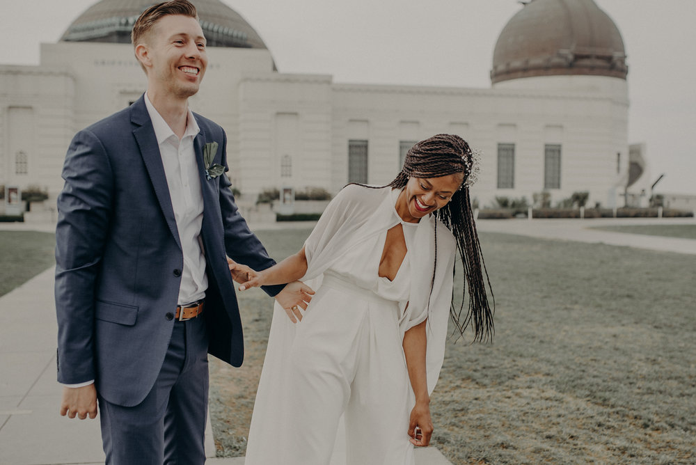 Los Angeles Wedding Photographer - Griffith Observatory Elopement - Long Beach wedding photo - IsaiahAndTaylor.com-092.jpg