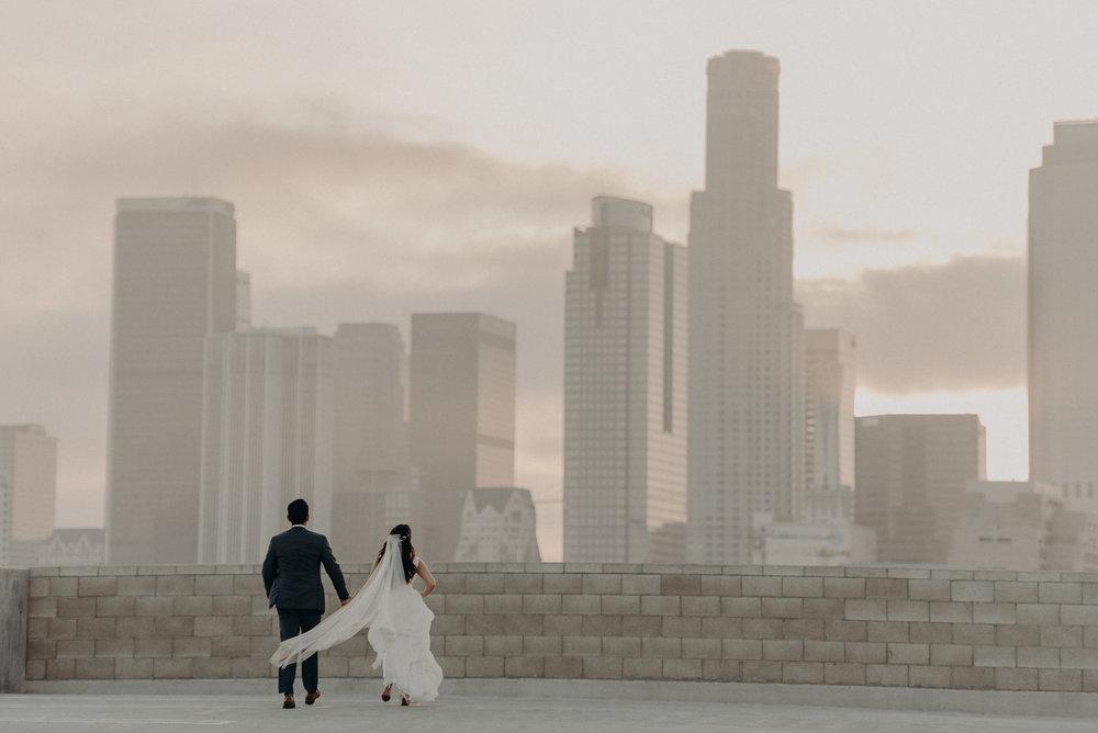 dtla weddings - los angeles wedding photographer