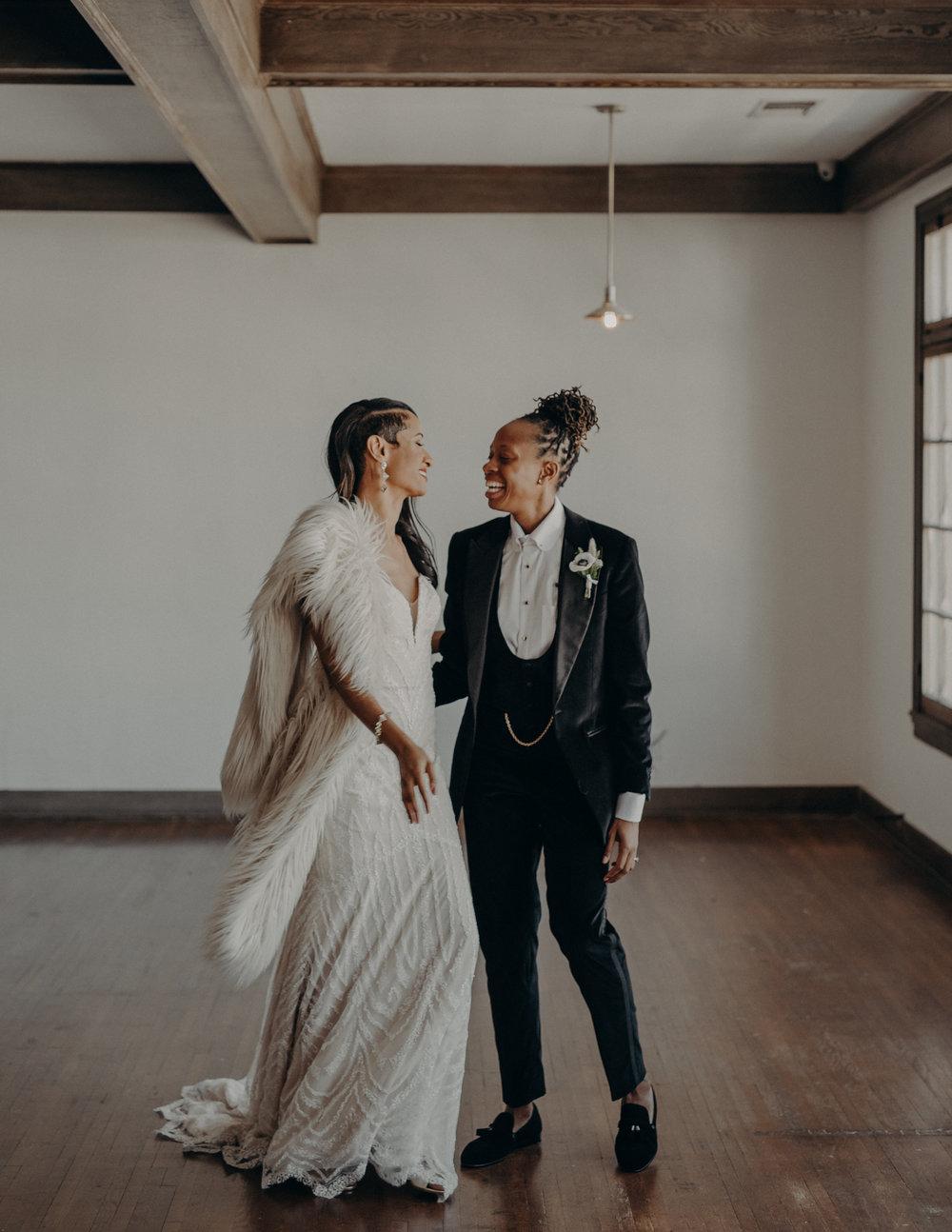 Wedding Photographer in Los Angeles - Ebell of Long Beach Wedding - LGBTQ weddings - lesbian wedding - IsaiahAndTaylor.com-036.jpg