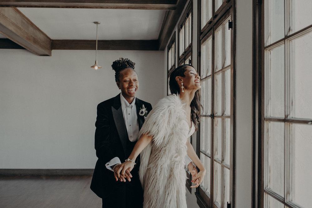Wedding Photographer in Los Angeles - Ebell of Long Beach Wedding - LGBTQ weddings - lesbian wedding - IsaiahAndTaylor.com-040.jpg