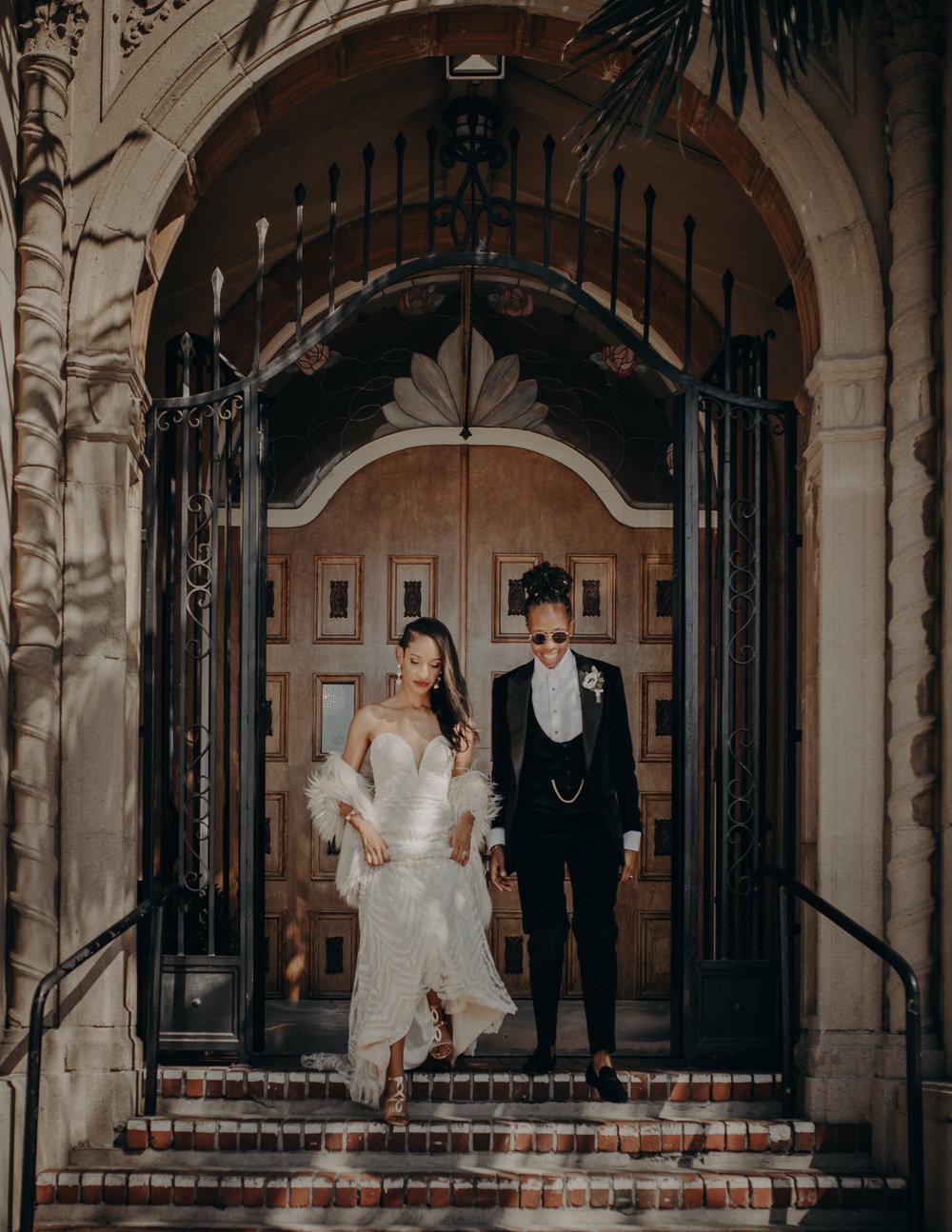 Wedding Photographer in Los Angeles - Ebell of Long Beach Wedding - LGBTQ weddings - lesbian wedding - IsaiahAndTaylor.com-043.jpg