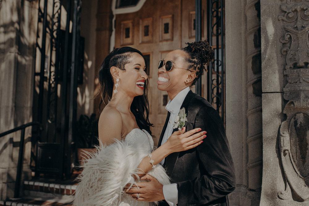 Wedding Photographer in Los Angeles - Ebell of Long Beach Wedding - LGBTQ weddings - lesbian wedding - IsaiahAndTaylor.com-047.jpg