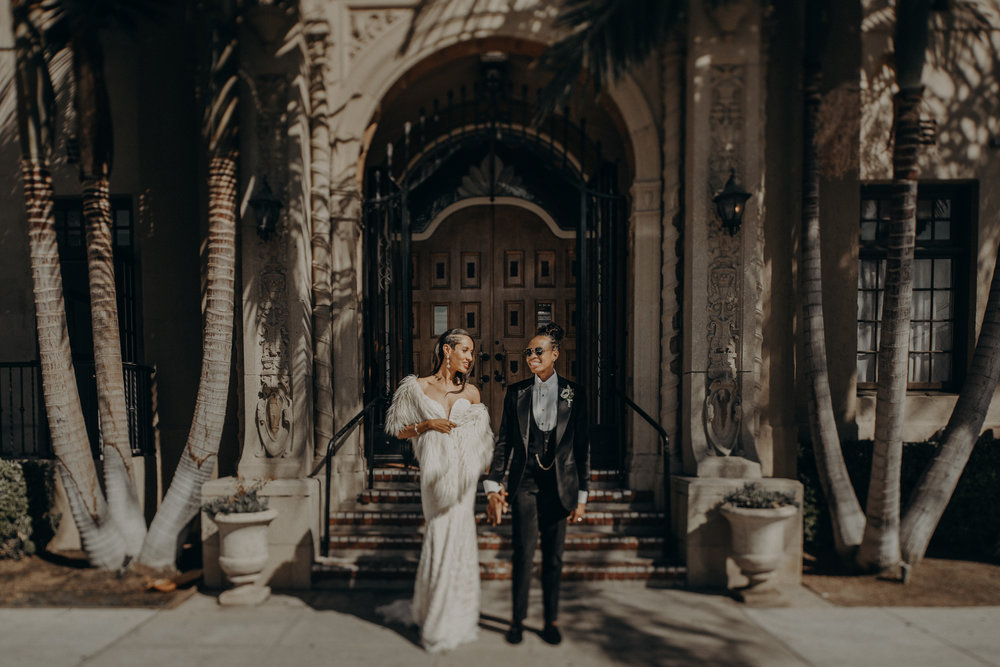 Wedding Photographer in Los Angeles - Ebell of Long Beach Wedding - LGBTQ weddings - lesbian wedding - IsaiahAndTaylor.com-059.jpg