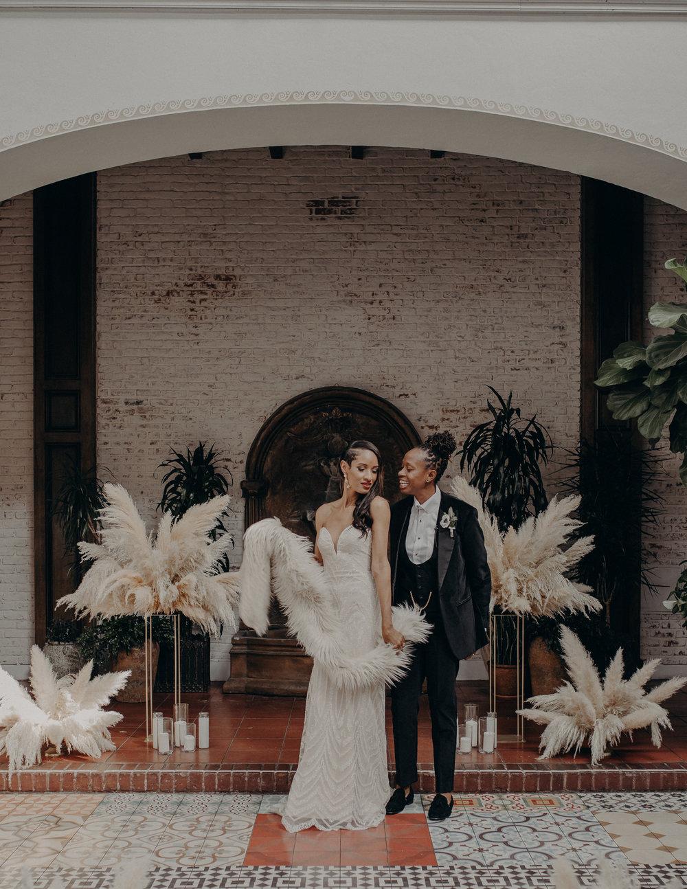 Wedding Photographer in Los Angeles - Ebell of Long Beach Wedding - LGBTQ weddings - lesbian wedding - IsaiahAndTaylor.com-062.jpg