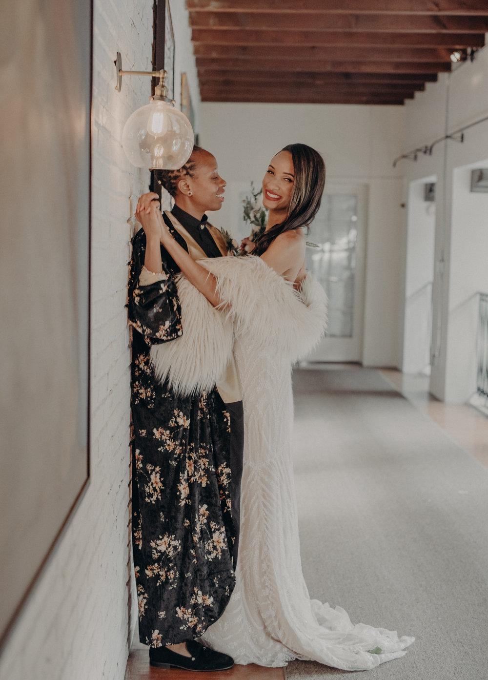 Wedding Photographer in Los Angeles - Ebell of Long Beach Wedding - LGBTQ weddings - lesbian wedding - IsaiahAndTaylor.com-074.jpg