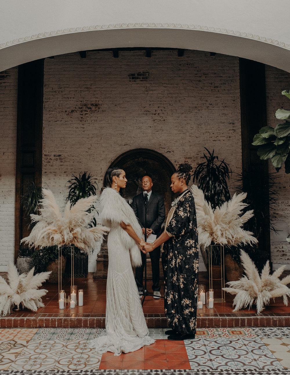 Wedding Photographer in Los Angeles - Ebell of Long Beach Wedding - LGBTQ weddings - lesbian wedding - IsaiahAndTaylor.com-093.jpg