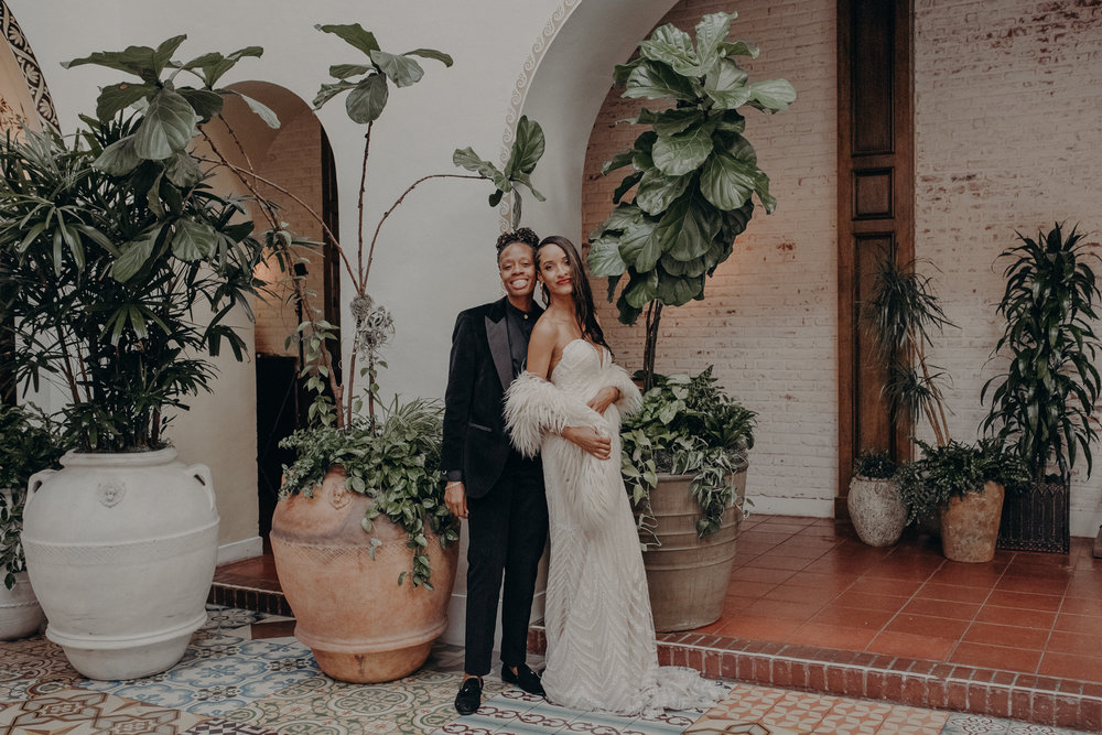 Wedding Photographer in Los Angeles - Ebell of Long Beach Wedding - LGBTQ weddings - lesbian wedding - IsaiahAndTaylor.com