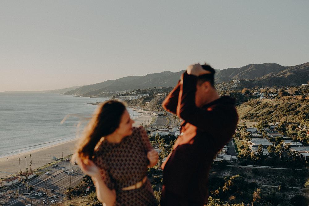 Santa Monica Engagement Photos - Wedding Photographer in Los Angeles - IsaiahAndTaylor.com -035.jpg