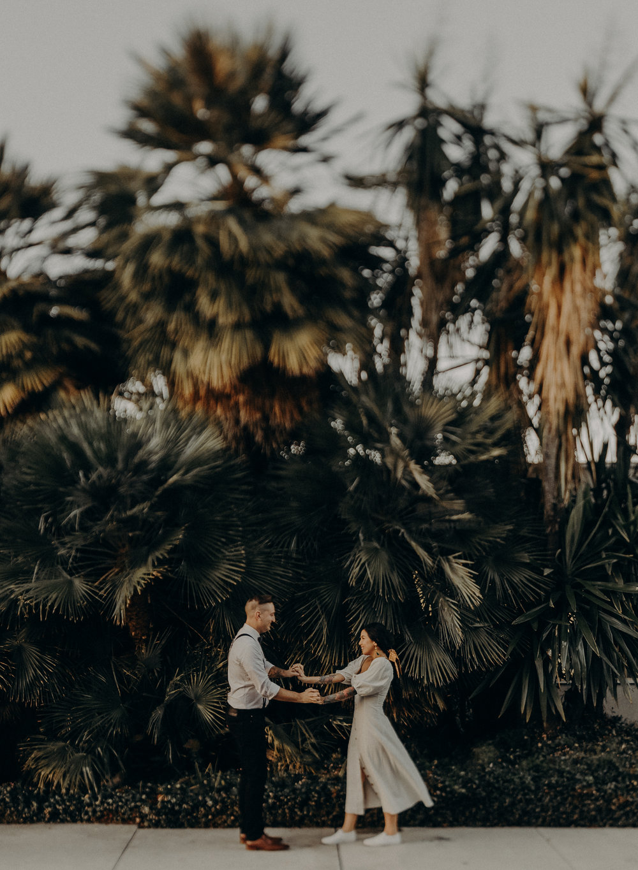 Wedding Photographer in LA - Los Angeles Wedding Photos - Tattoo Shop Engagement Session - IsaiahAndTaylor.com-040.jpg