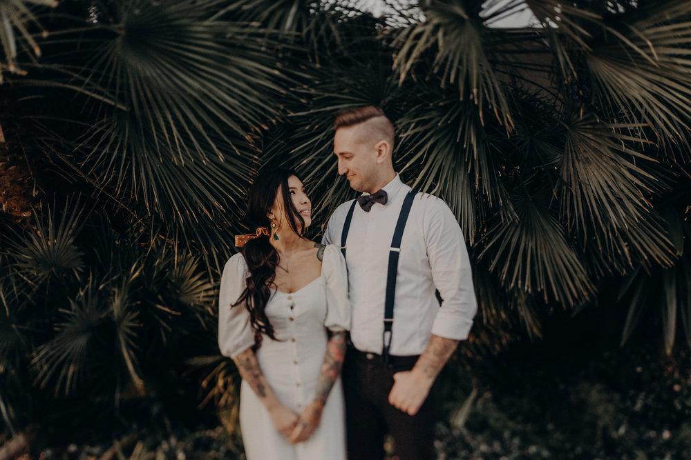 Wedding Photographer in LA - Los Angeles Wedding Photos - Tattoo Shop Engagement Session - IsaiahAndTaylor.com-051.jpg