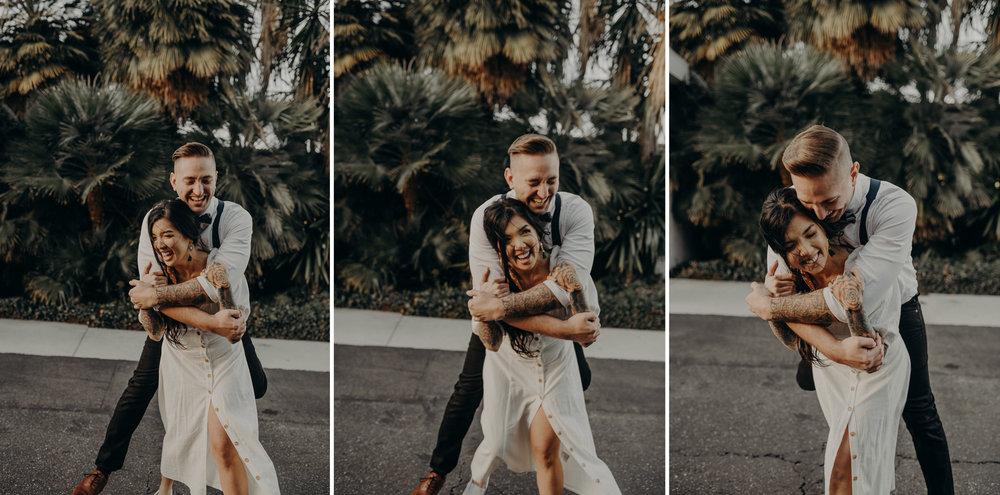 Wedding Photographer in LA - Los Angeles Wedding Photos - Tattoo Shop Engagement Session - IsaiahAndTaylor.com-058.jpg