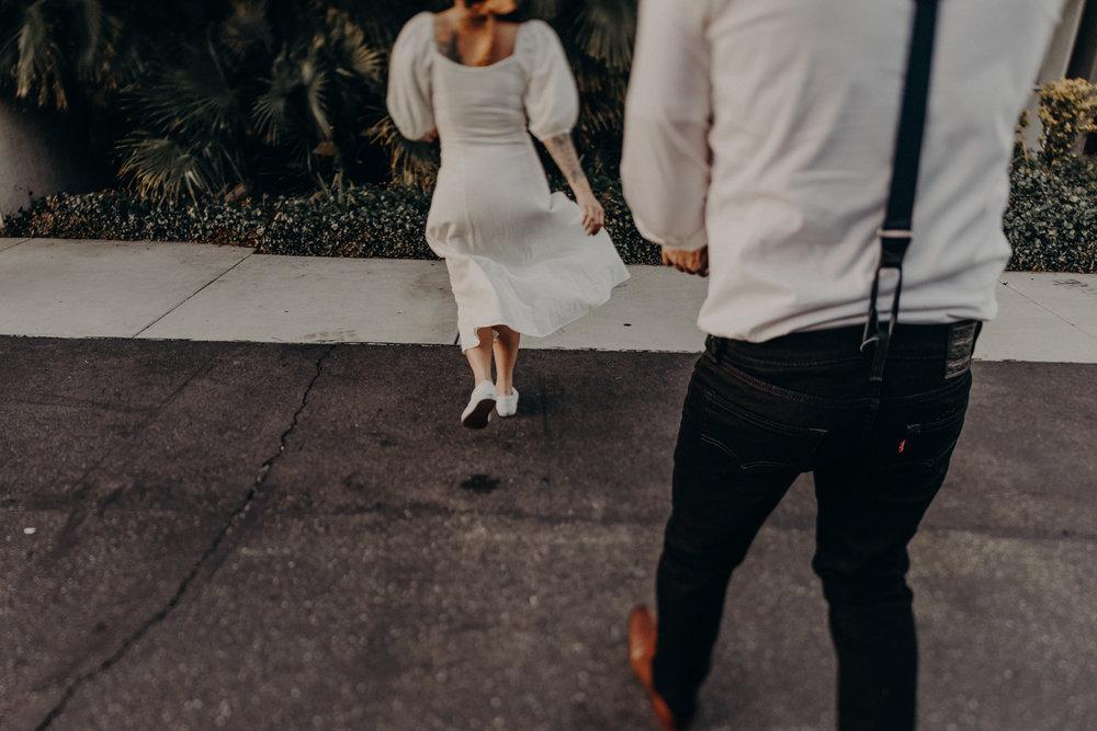Wedding Photographer in LA - Los Angeles Wedding Photos - Tattoo Shop Engagement Session - IsaiahAndTaylor.com-057.jpg