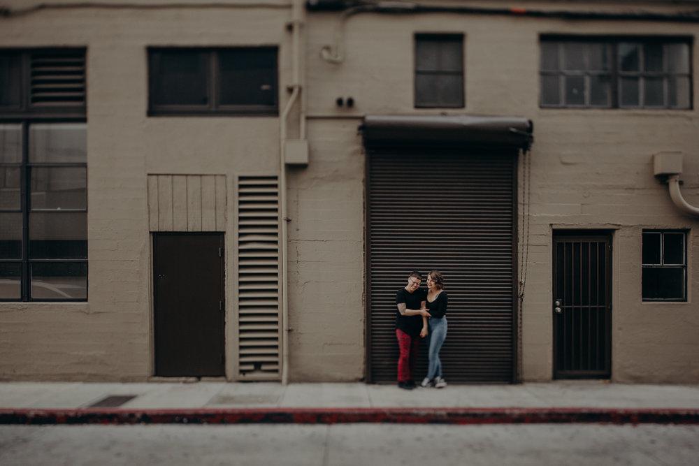 lgbtq wedding photographer in Los Angeles - lesbian engagement session - dtlb wedding