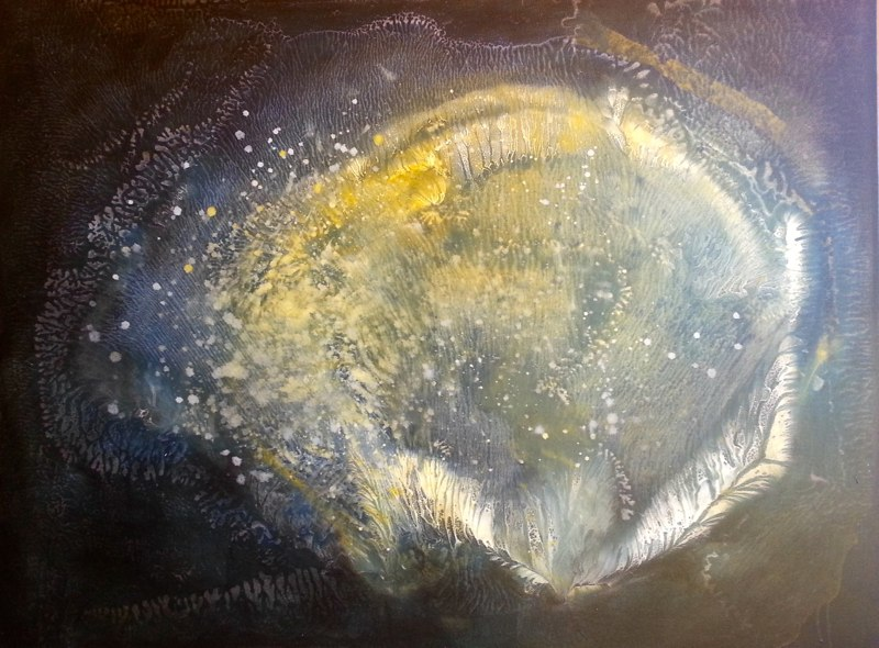 Immortal Shell, 2013 36 x 48 inches