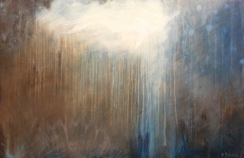 Geyser 1, 2013 48 x 72 inches