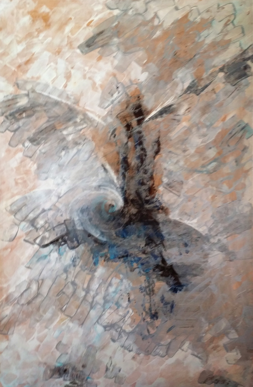 Wings, 2008  40 x 60 inches