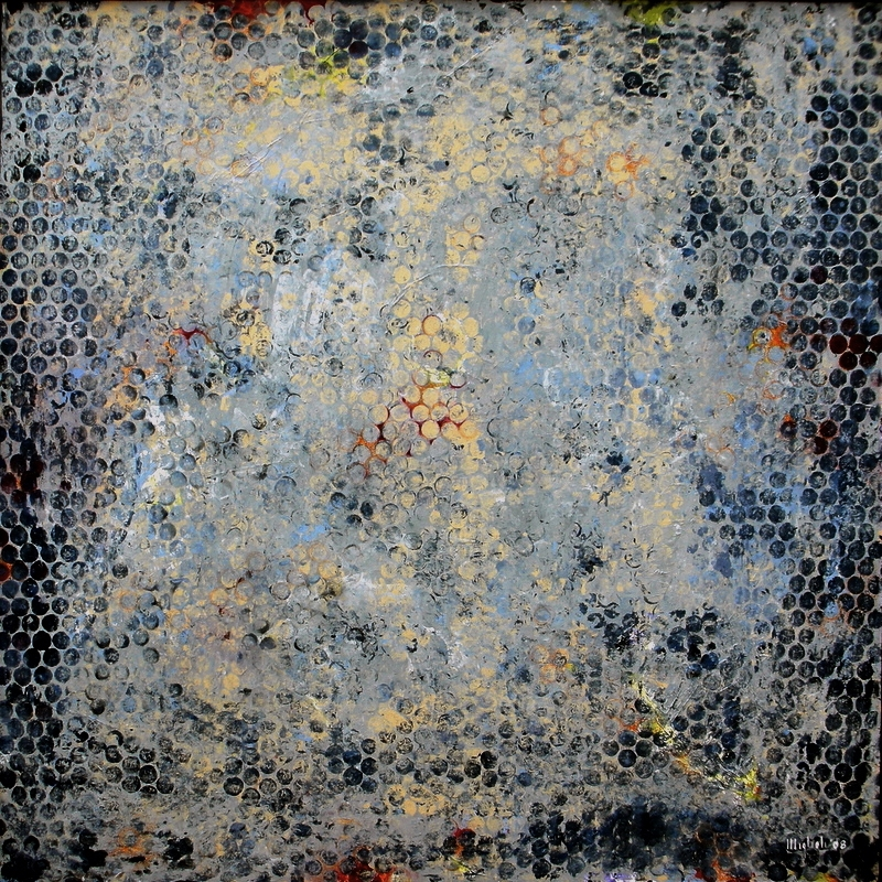 Blue Quantum, 2008  48 x 48 inches