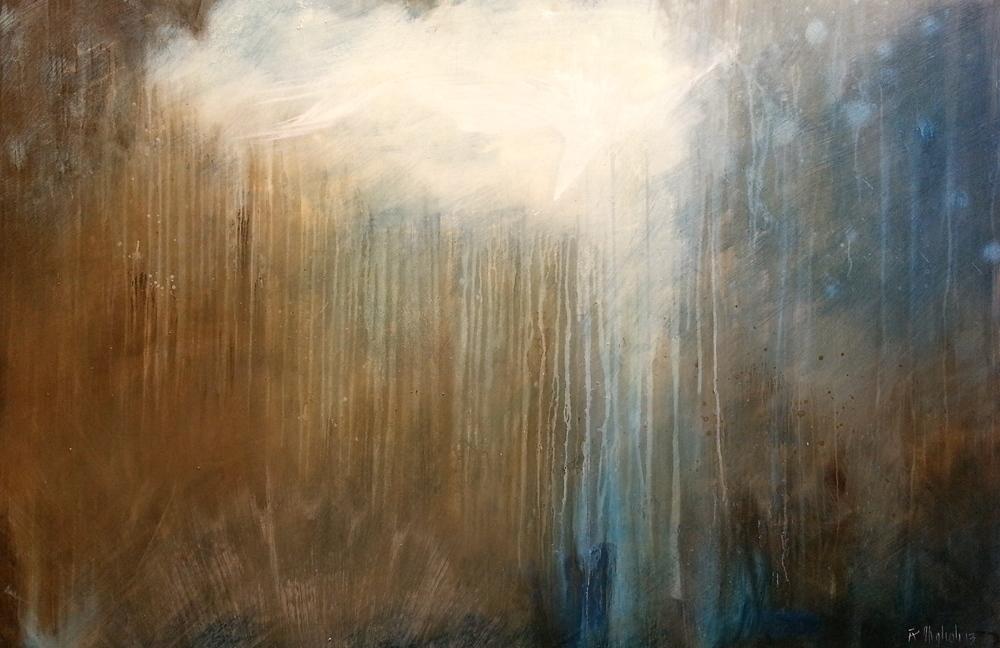 Geyser 1, 2013, 72 x 48 inches