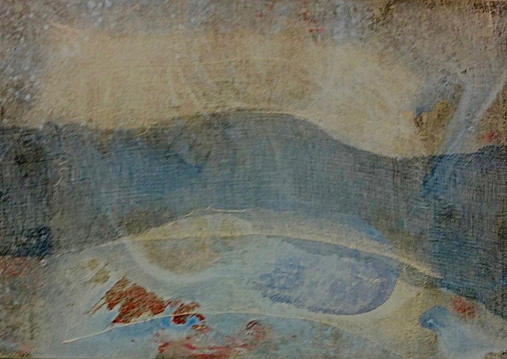 Tiepolo Graffiti 481, 2015  Terra e Cielo 24 x 36 inches