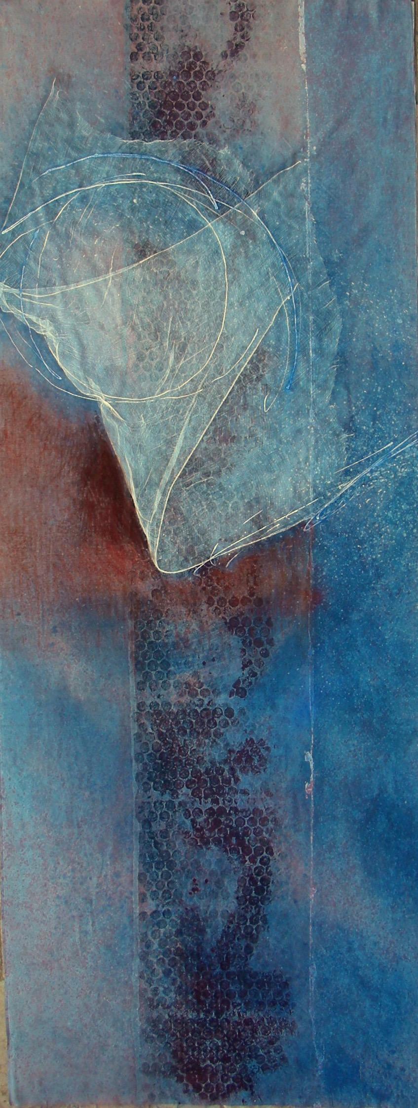 Quantum Paradox 3, 2011  120 x 48 inches