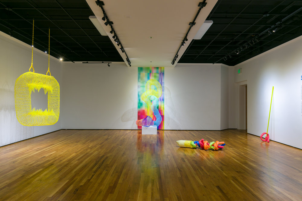 'Super Synthetic' 2018, Installed at UNC Greeley, Mariani Gallery 2018
