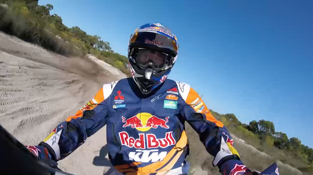 RED BULL - TOBY PRICE 'PAYING THE PRICE' - CINEMATOGRAPHY & OFFLINE EDIT