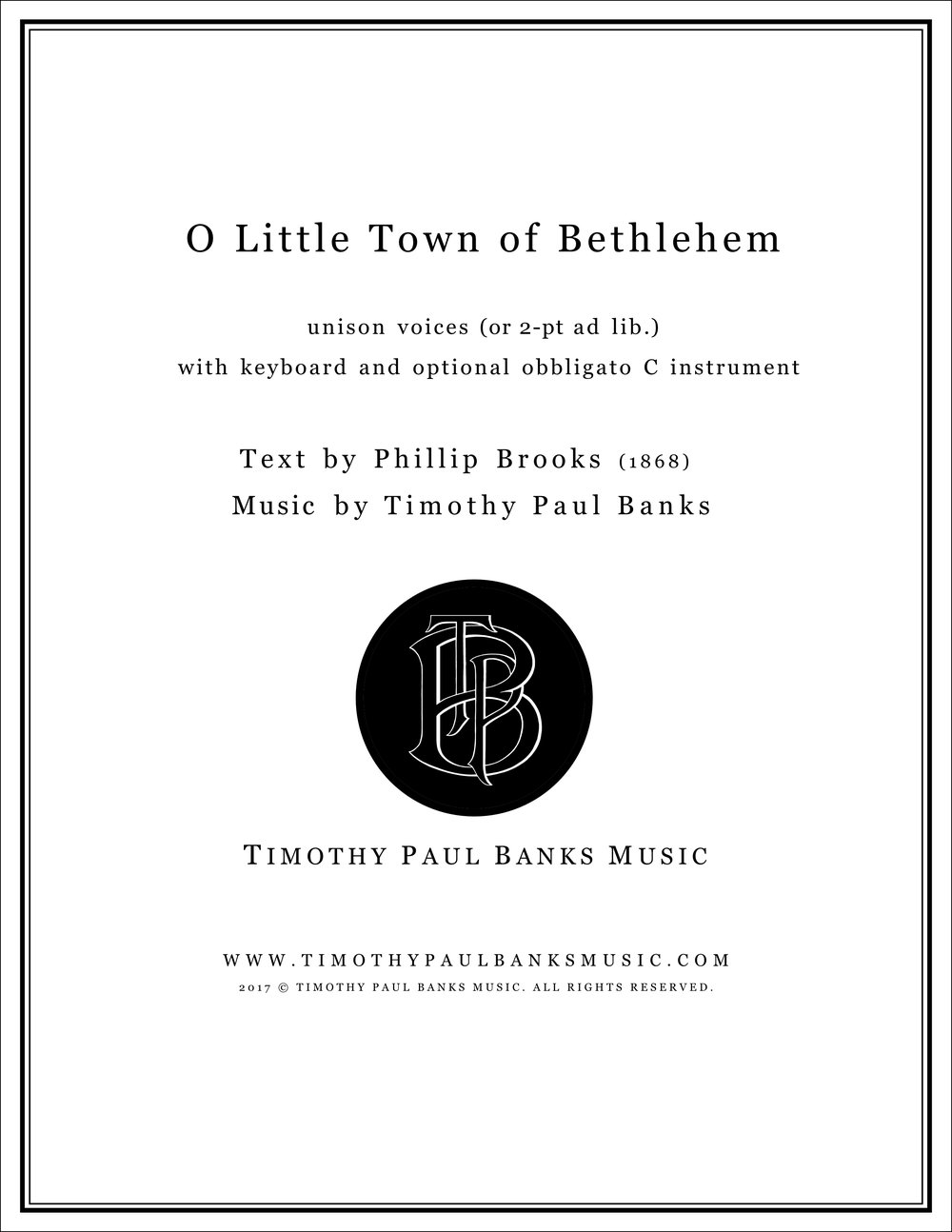 O Little Town of Bethelhem