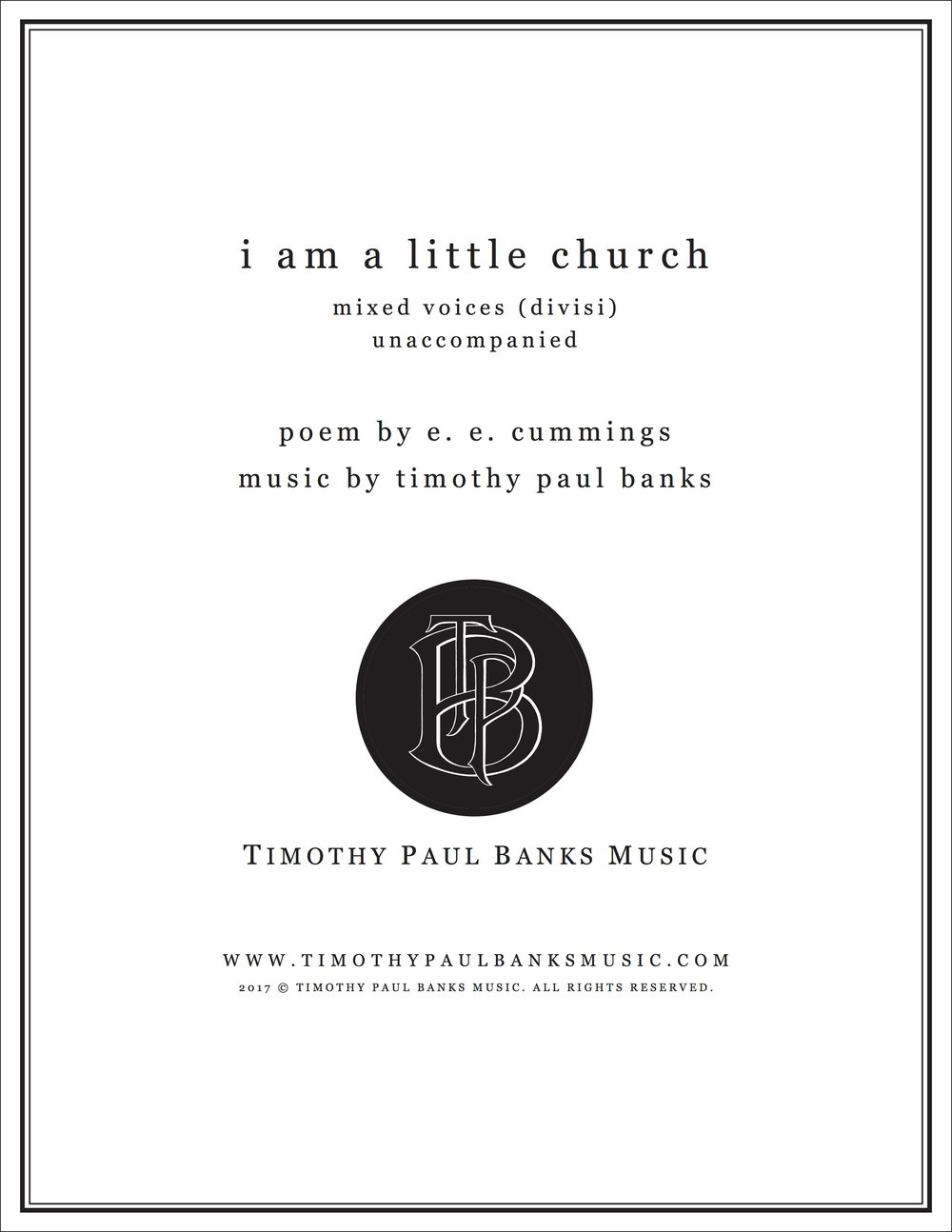 TPB Music Cover-iamalittlechurch.jpg