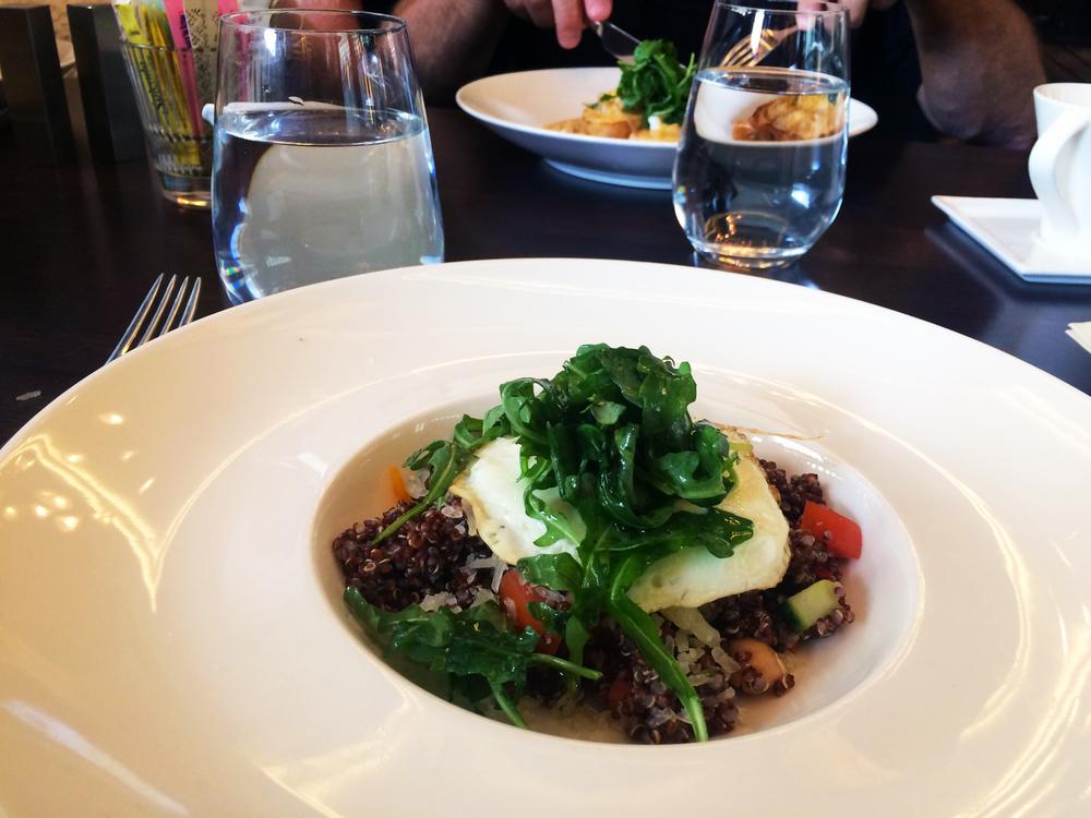 Pretentious quinoa bowl
