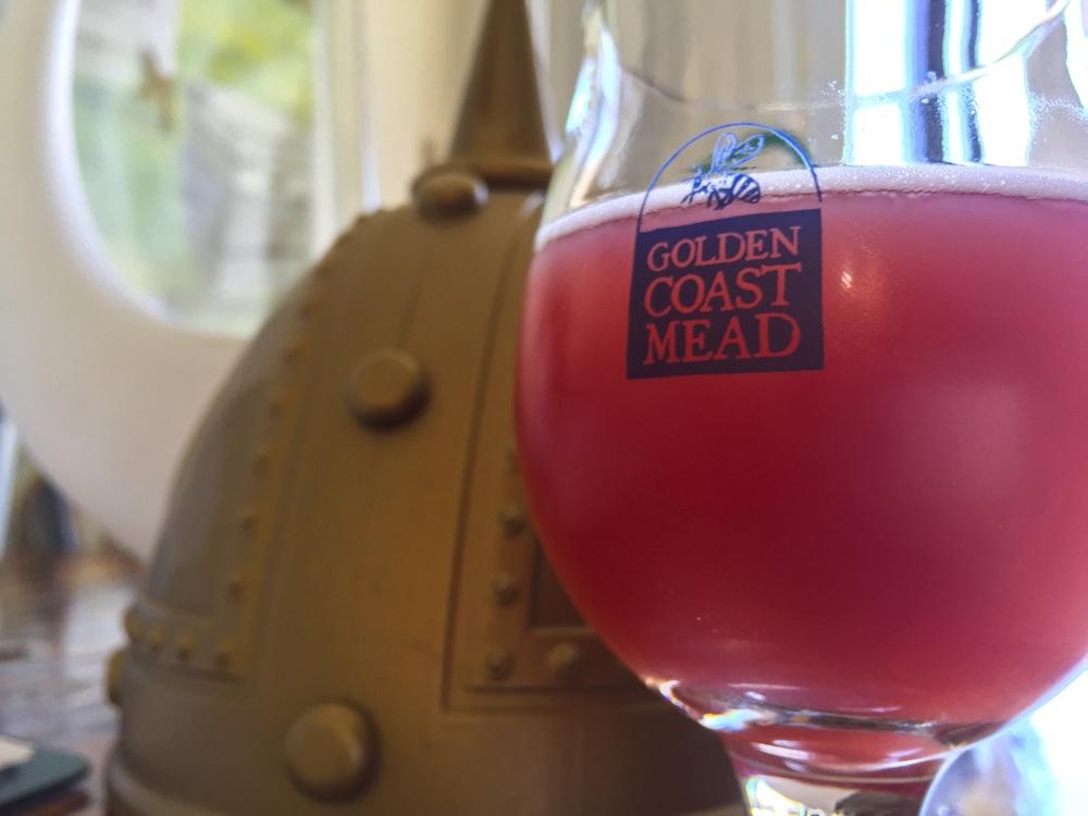 Purple Monsoon Session Mead, 6% ABV   Golden Coast Mead, Oceanside, CA   www.goldencoastmead.com