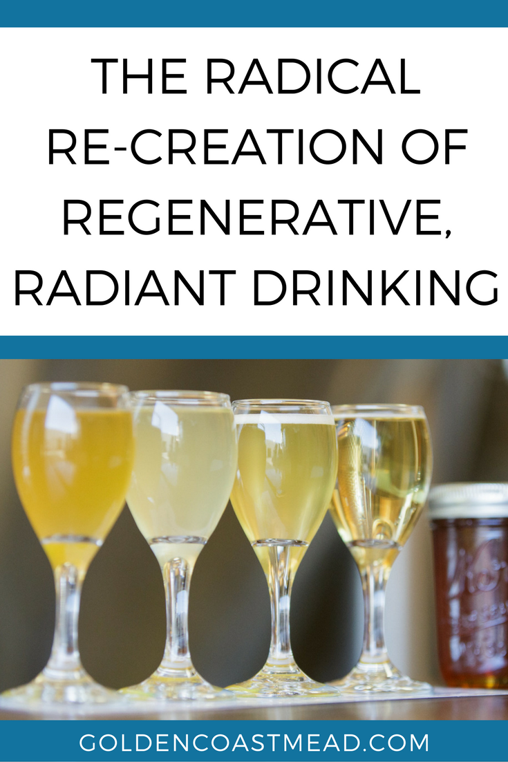 The Radical Re-Creation of Regenerative, Radiant Drinking //Why mead? What makes mead standout?For us,mead stands out because it is Sunshine and Flowers in the Glass! It was the gift of the Gods to Humanity in myths and epic stories the world over and we get to rediscover it and recreate it. http://www.goldencoastmead.com/blogs/the-radical-re-creation-of-regenerative-radiant-drinking #savethebees