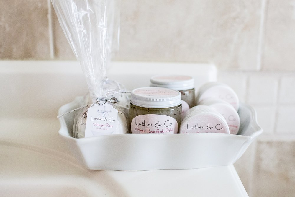 LATHER & CO PAMPERING PRODUCTS