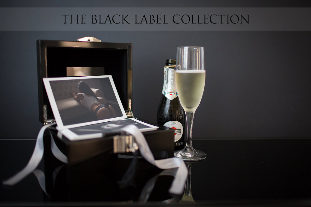 HIGH END PHOTOGRAPHY PRODUCTS | THE BLACK LABEL COLLECTION | NICHOLE MARIE BOUDOIR