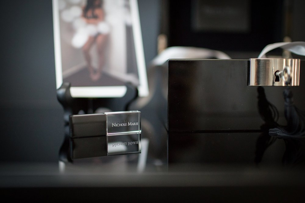 A LUXURY DISCRETE WAY TO DISPLAY BOUDOIR PHOTOS | THE BLACK LABEL COLLECTION | NICHOLE MARIE BOUDOIR