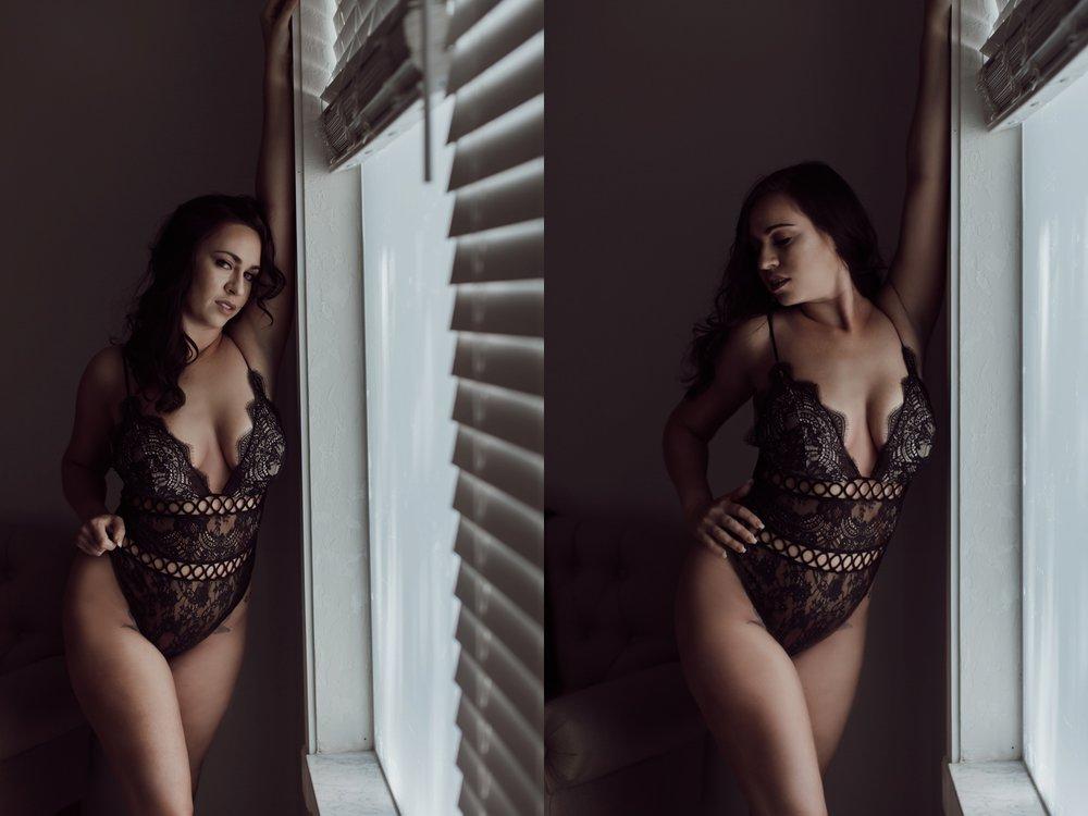 wall/ window boudoir posing. client testimonial. Sebastian, florida.
