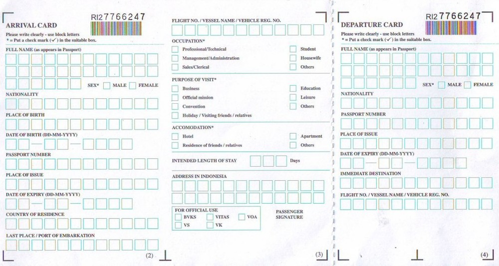 example of us customs form international flights pdf