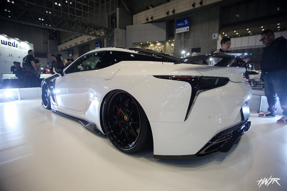 The Lexus LC was the car to look out for at all the big name booths. It was nice to see what everyones take on that platform was. Very stunning design for sure. I think it'll be a future classic.